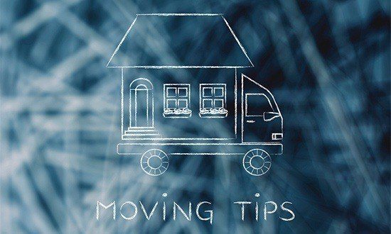 Moving Tips: house traveling on moving company truck